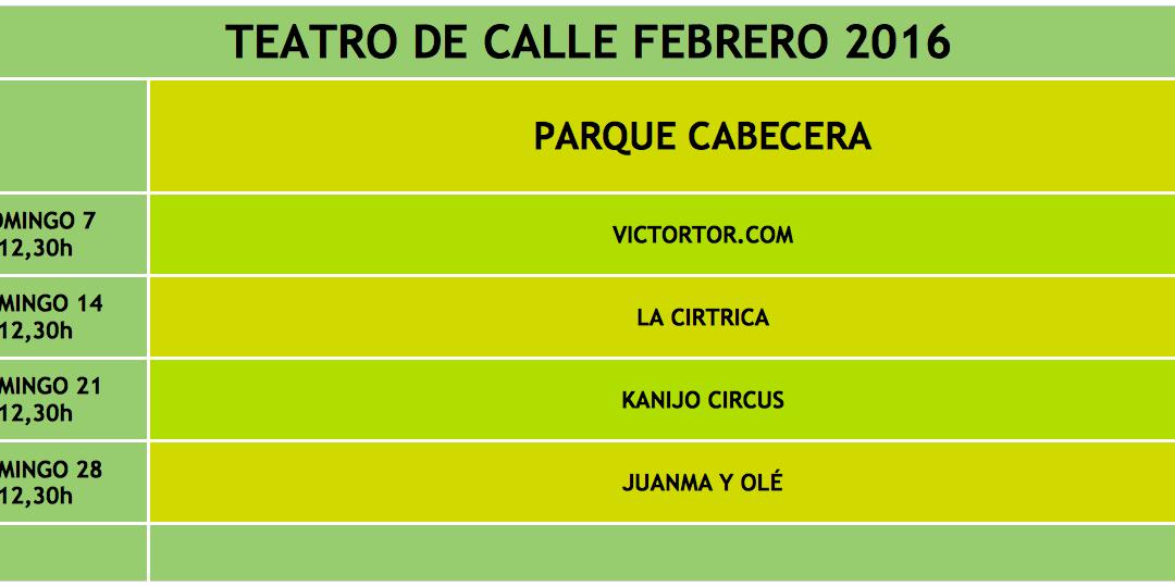 TEATRO DE CALLE FEBRERO 2016