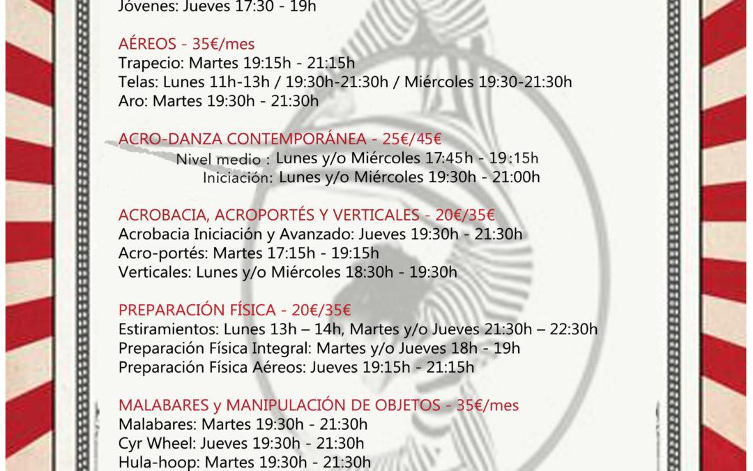 CURSOS REGULARES 2016/2017