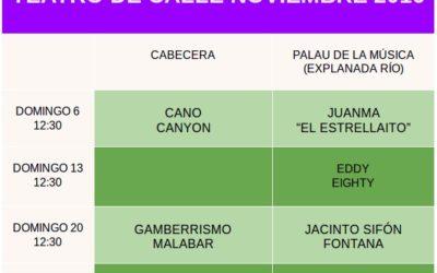 TEATRO DE CALLE NOVIEMBRE 2016
