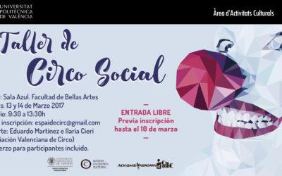 Taller de Circo Social en la UPV