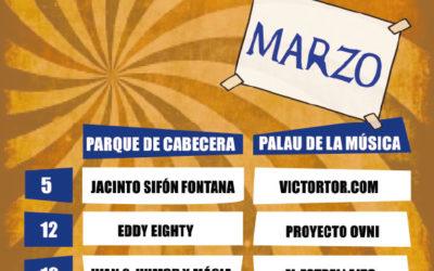CIRCUITO TEATRO DE CALLE VALENCIA MARZO