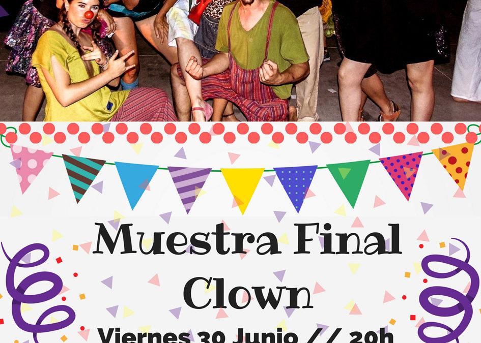 MUESTRA FINAL CLOWN – Curso 2016/17