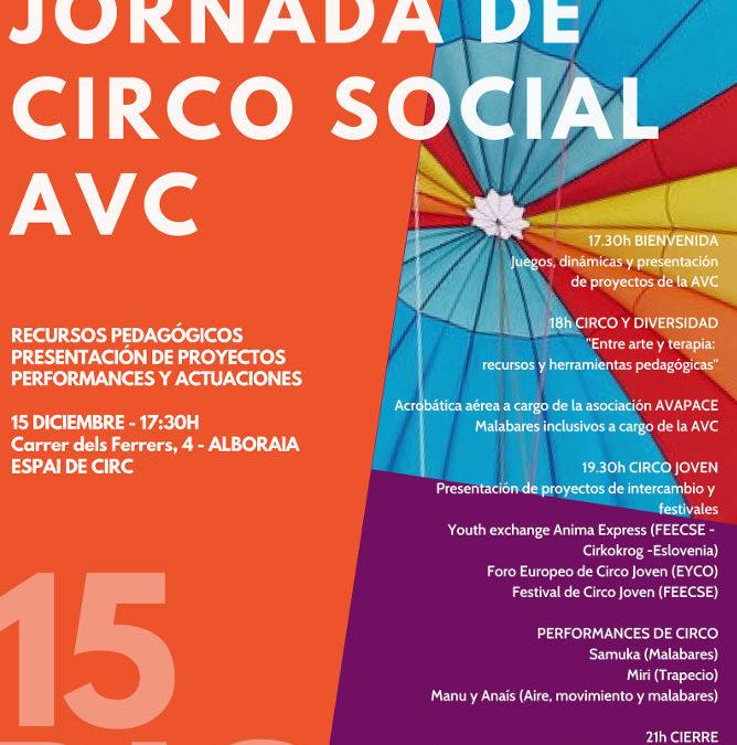 III JORNADA DE CIRCO SOCIAL – 15 diciembre