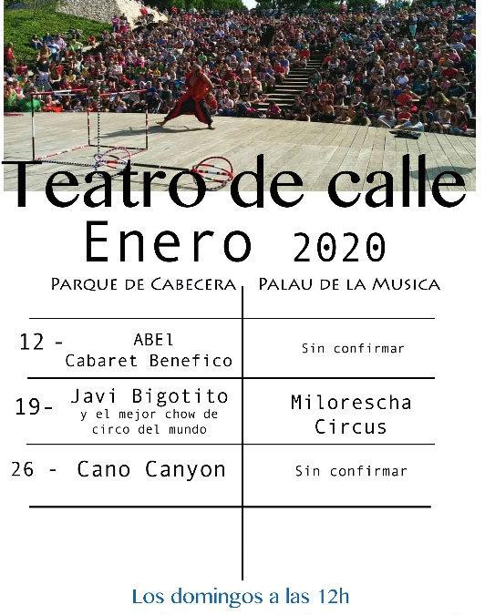 CIRCUITO TEATRO CALLE ENERO 2020