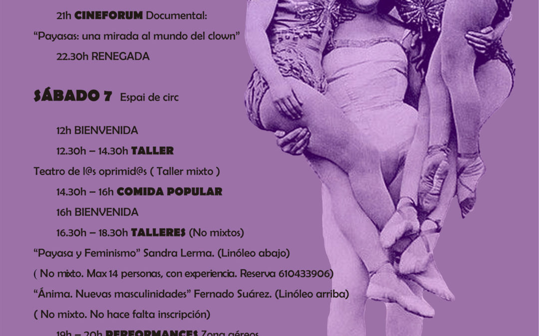 66ª GALA CIRCO AVC + JORNADA FEMINISTA . 6-7/03