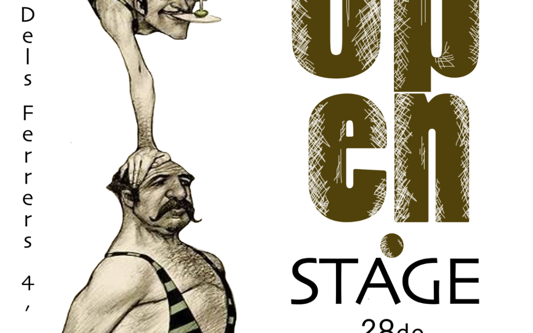 OPEN STAGE – 27/03