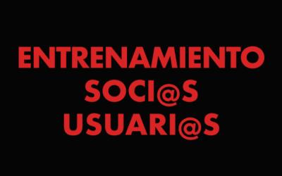 ENTRENAMIENTO LIBRE SOCI@S USUARI@S