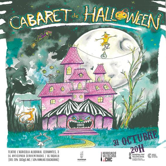 CABARET CIRCO HALLOWEEN AVC . 31/10 . 20H