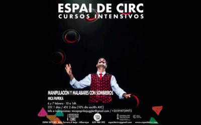 MANIPULACIÓN Y MALABARES CON SOMBREROS 6-7 FEBRERO (CANCELADO)