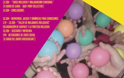 IV JORNADA DE CIRCO SOCIAL DE LA AVC . 14/12