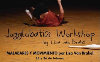 INTENSIVO MALABARES Y MOVIMIENTO . LIZA VAN BRAKEL . 25-26/02
