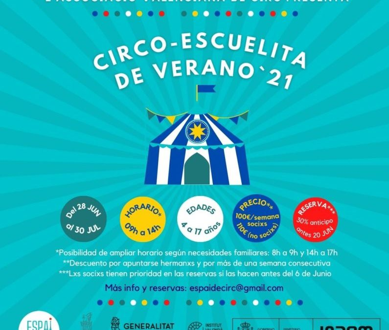 CIRCO-ESCUELITA DE VERANO'21