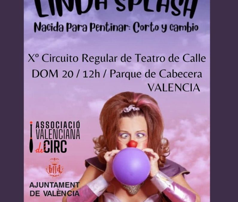 Este Domingo 20, Circuito Regular de Teatro de Calle en Valencia!