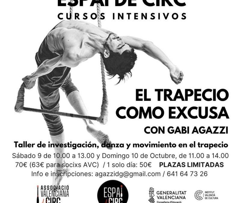 "INTENSIVO: ""EL TRAPECIO COMO EXCUSA"" CON GABI AGAZZI"