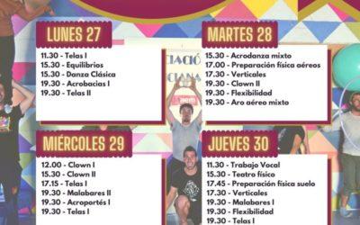 PUERTAS ABIERTAS DEL ESPAI DE CIRC 2021/22