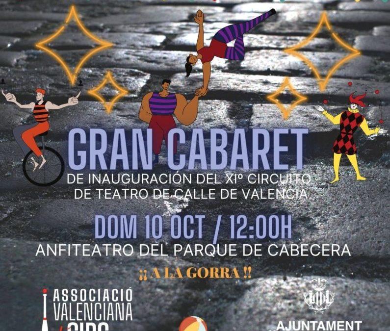 GRAN CABARET TEATRO DE CALLE DOM 10/10/21